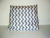 Úžitkový textil - vankúšiky sivé - 9077540_