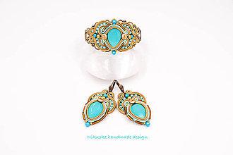 Sady šperkov - Impresia - soutache sada - 9076891_