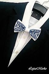 - Bielo-modrý motýlik - 9076210_