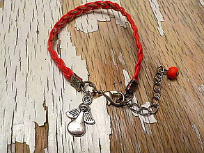 Náramky - náramok s príveskom pre šťastie - 9077360_