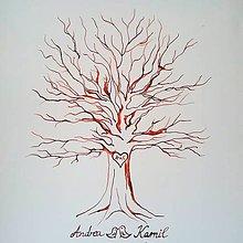 Obrazy - Svadobný strom na mieru - 9080514_