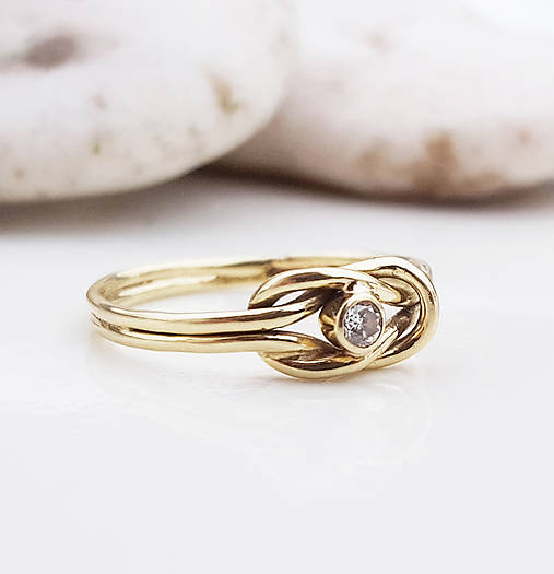 Prstene - Knot ring  - 9081834_