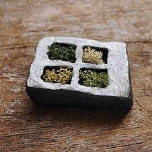 Dekorácie - miniatúrna RAKU záhrada - 9079081_