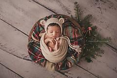 Detské čiapky - Čiapka pre novorodenca  - 9081967_