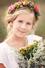 Ozdoby do vlasov - Hravosť letných farieb - 9082853_