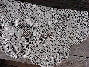 Úžitkový textil - zámocké prestieranie v béžovom - 9080932_