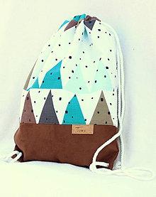 Batohy - Vak uťahovací - trojuholník - 9081541_
