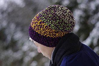 Čiapky - farebné kamošky slivkového lekváru:) čiapka - 9081675_