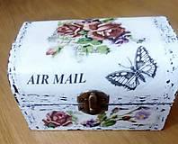 Krabičky - Šperkovnica AIR  MAIL - 9082339_