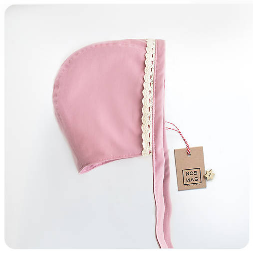 Detské čiapky - Vintage staroružový - 9081966_
