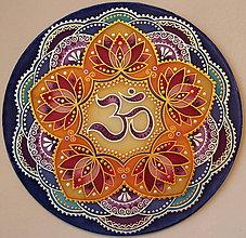 Dekorácie - Mandala...Cesta k sebe - 9082899_