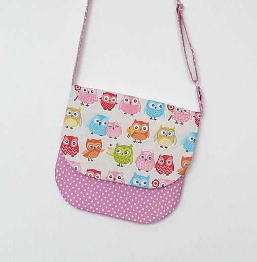 b811aeadcd Detská kabelka sovičková č.4   LEAN - SAShE.sk - Handmade Detské tašky