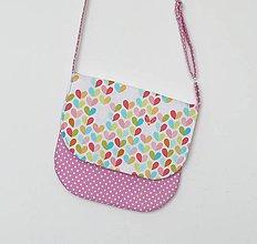 220acc948 Detská kabelka fialková / LEAN - SAShE.sk - Handmade Detské tašky