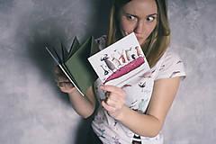 Papiernictvo - Leporelo 13x13 ,,Party na veľrybe,, - 9078178_