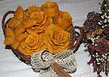 Dekorácie - Košík plný kvetín - 9080573_