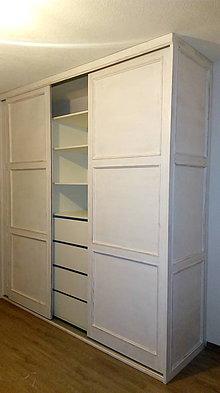 Nábytok - Vstavaná skriňa vintage - 9078163_