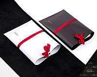 Na mobil - Univerzálne kožené puzdro VALENTÍNKA (Čierne) - 9080498_