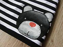 Detské čiapky - Zimná čiapka s mackom - 9078744_