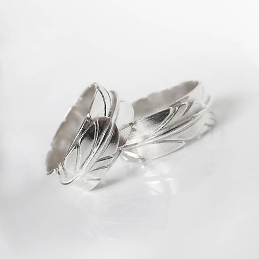 Prstene - Sme párik Originálov :-) Obrúčky na mieru, strieborné - 9078261_