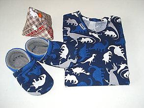 Detské oblečenie - súprava body a capačky - 9078408_