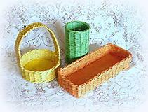 Košíky - Košíky na veľkonočné dekorácie - 9079674_