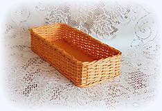 Košíky na veľkonočné dekorácie (38x 12 výška 8  - Oranžová)
