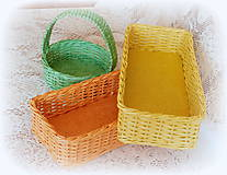 Košíky - Košíky na veľkonočné dekorácie - 9079715_