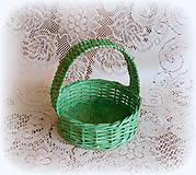 Košíky - Košík na Veľkonočné vajíčka - 9079755_