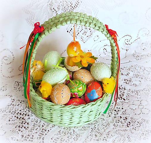 Košík na Veľkonočné vajíčka