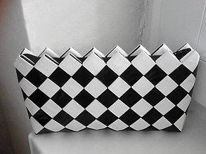 Taštičky - Domino čierno biela na drobnosti...:) - 9078923_