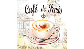 """Papier - Servítka """"Cafe de Paris"""" - 9082313_"""
