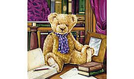 "Papier - Servítka ""Teddy in library"" - 9082347_"