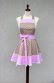 Iné oblečenie - zástera Loli kapučíno - 9086966_