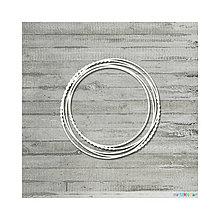Polotovary - Lepenkový výrez - Prepletené kruhy veľ. S - 9084990_
