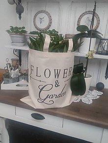 """Nákupné tašky - Nákupná taška """"flovers"""" - 9084249_"""