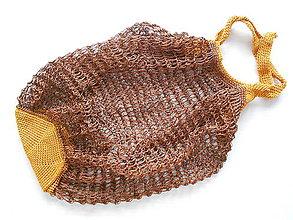 Nákupné tašky - Sieťovka oriešok v čokoláde - 9084364_