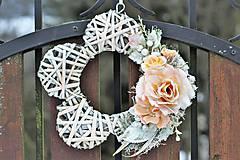 Dekorácie - Dekorácia na dvere - 9083337_