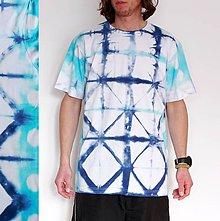 Oblečenie - Batikované tričko VIII. - 9084362_