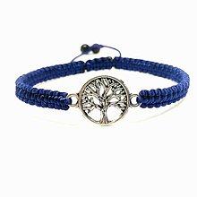 Náramky - Strom života - pánsky (Modrá) - 9084260_