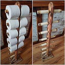 Nábytok - Stojan na toaletný papier - natur - 9086229_