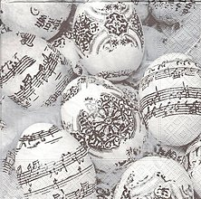 Papier - vajíčka s notami - 9084677_