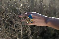 "Prstene - Glamour plesový prstienok ""hviezdne nebo"" - 9083633_"
