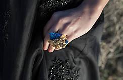 "Prstene - Glamour plesový prstienok ""hviezdne nebo"" - 9083634_"