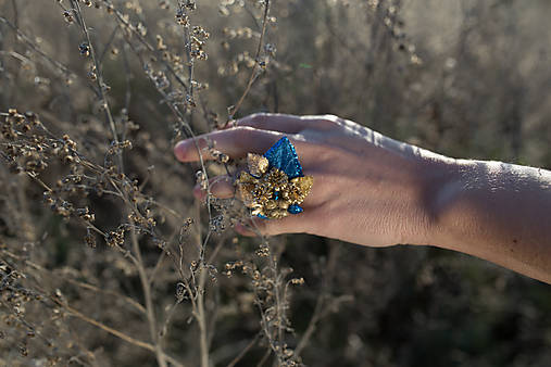 Glamour plesový prstienok