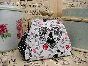 Peňaženky - Minitaštička Wonderland - 9085589_