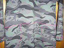 Detské oblečenie - Šaty maskáčové - 9085000_