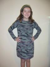 Detské oblečenie - Šaty maskáčové - 9085017_