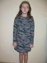Detské oblečenie - Šaty maskáčové - 9085019_
