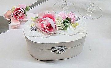 Prstene - Svadobná krabička - 9085096_