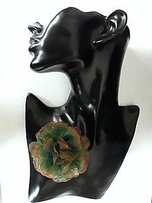 Ozdoby do vlasov - Šifónová ruža - 9085104_